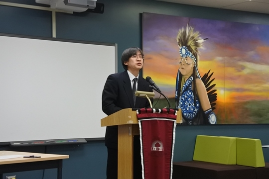 7th Annual Alberta High School Japanese Speech Contest : Consulate